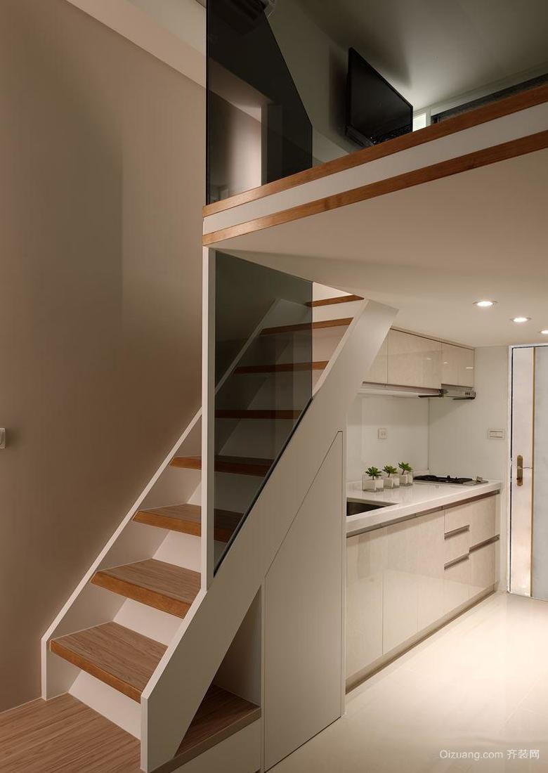 小户型复式楼梯设计效果图