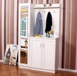 门厅柜鞋柜衣帽柜一体效果图