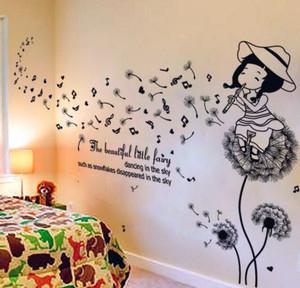 卧室墙贴画装饰图片
