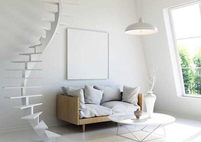 复式楼室内旋转楼梯案例