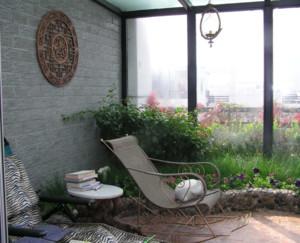 小花园阳台装修效果图