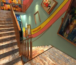 二层别墅楼梯图片大全