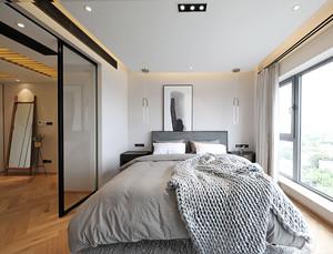 卧室玻璃隔断墙效果图