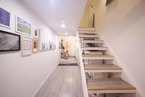 上下二层打通楼梯设计案例
