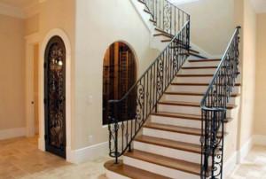 铁艺室内小户型楼梯装修效果图