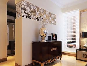 客厅和卧室透光隔断墙