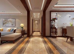 客厅走廊波导线效果图