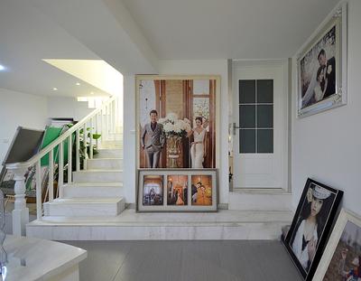 婚纱照片墙设计效果图