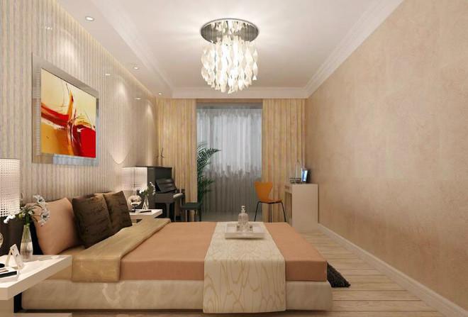 简欧式宾馆房间吊顶效果图