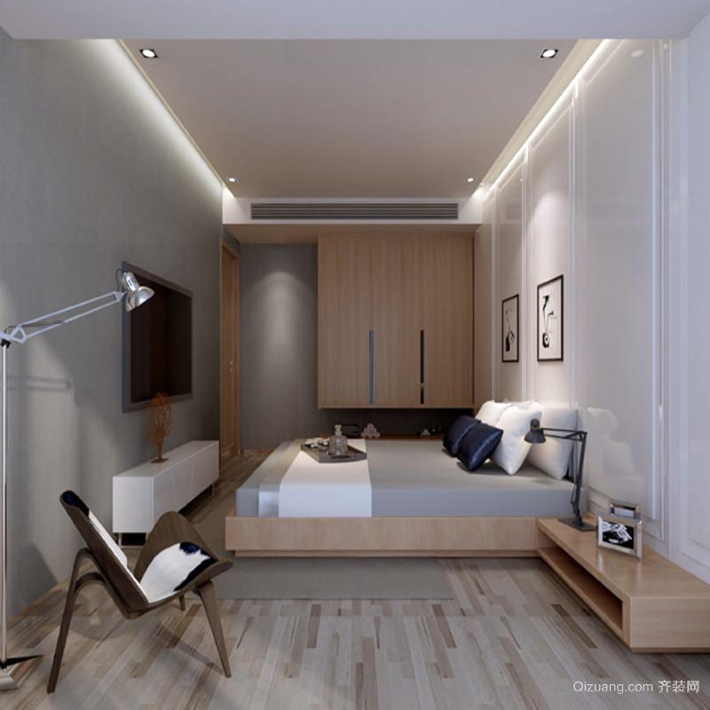 现代小卧室设计装修风格效果图