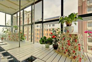阳台小花园装修效果图