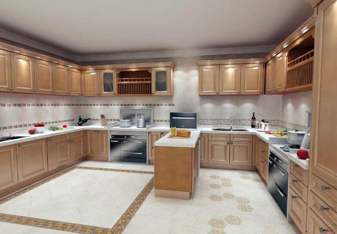 厨房用800的砖效果图