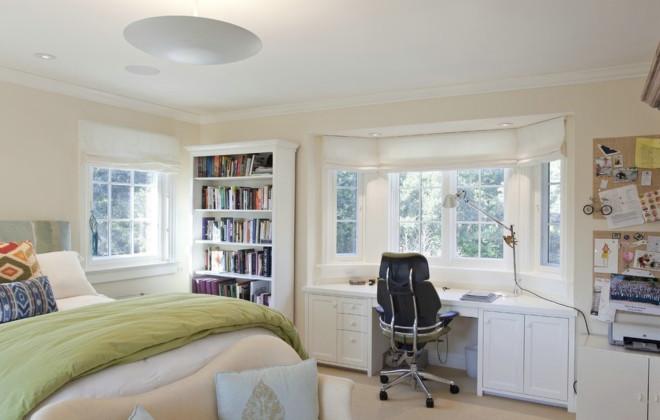 卧室书房一体效果图赏析