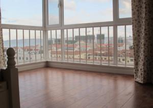 高层阳台落地窗装修效果图