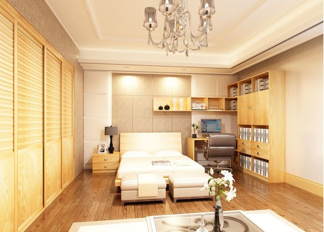 8平米书房兼卧室一体效果图赏析