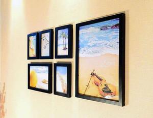 6张照片墙效果图欣赏