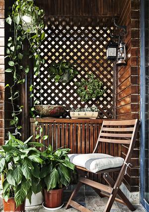 4平米阳台小花园效果图
