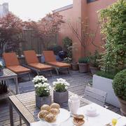 露天阳台花园实景图片