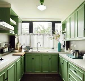 1.5平米厨房装修实景图