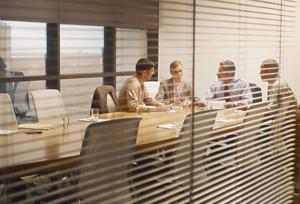 会议室百叶窗效果图赏析