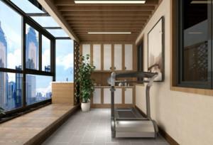 小户型客厅阳台装修效果图欣赏