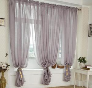 布艺折叠窗帘效果图