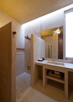 卫生间半墙隔断效果图