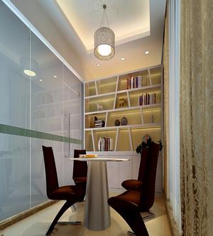 书房玻璃门效果图