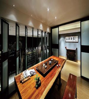 30平米家庭接待室屏风装修效果图