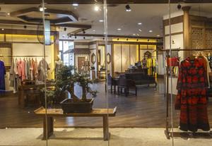 复古式服装店装修风格
