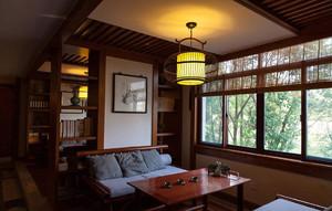 老木料装修茶室