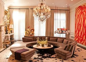 客厅水晶灯具图片大全