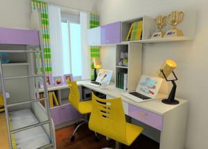 小儿童书房装修效果图赏析