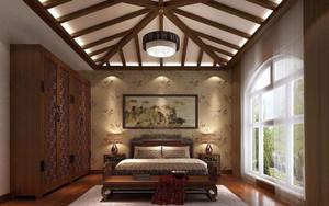 卧室生态木吊顶效果图赏析