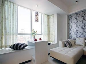 客厅飘窗改卧室效果图