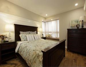 复古小清新的女生卧室装修效果图