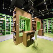 自然风格儿童书店装修效果图