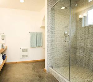 砖砌个性淋浴房效果图