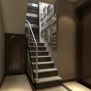 小复式楼梯照片墙效果图