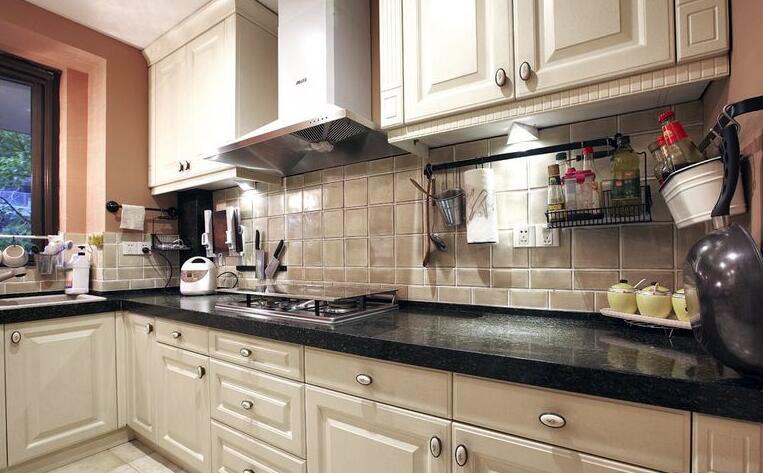 小美式厨房装修效果图大全