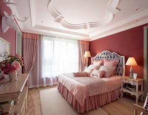 女生卧室设计粉色温馨