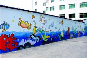 高端幼儿园外墙效果图赏析