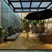 联排别墅入户花园设计图