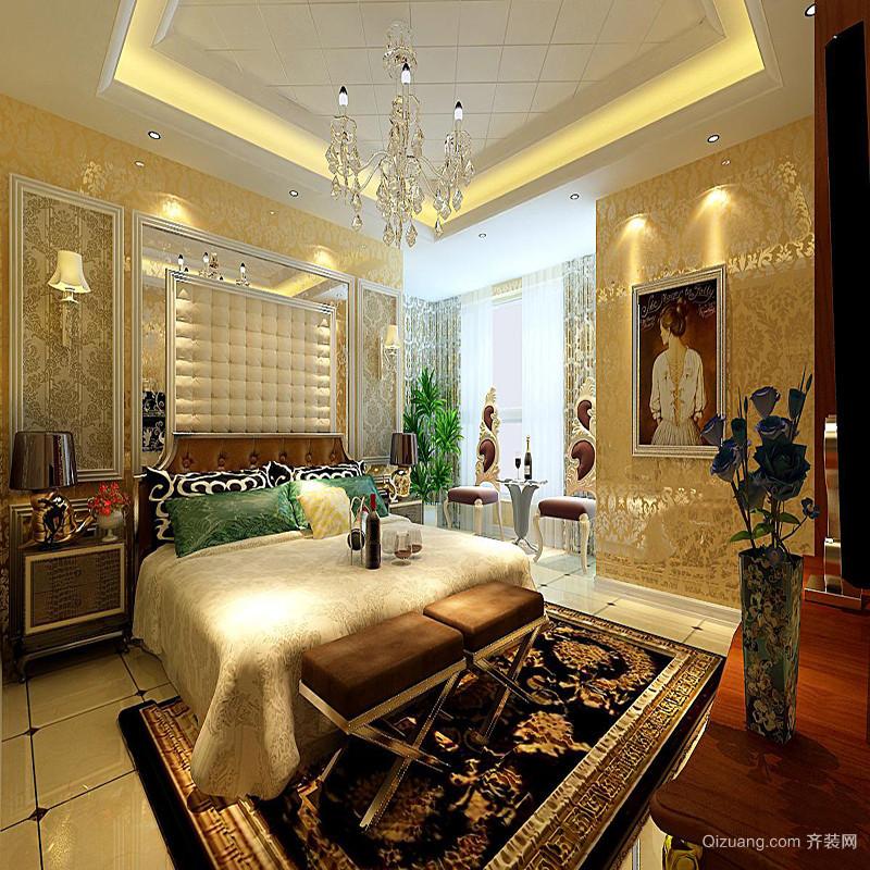 100平米房子卧室设计图