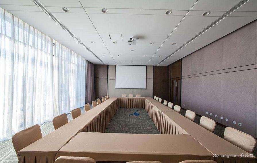 会议室高档窗帘效果图赏析