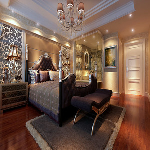 60平室内装修卧室设计图