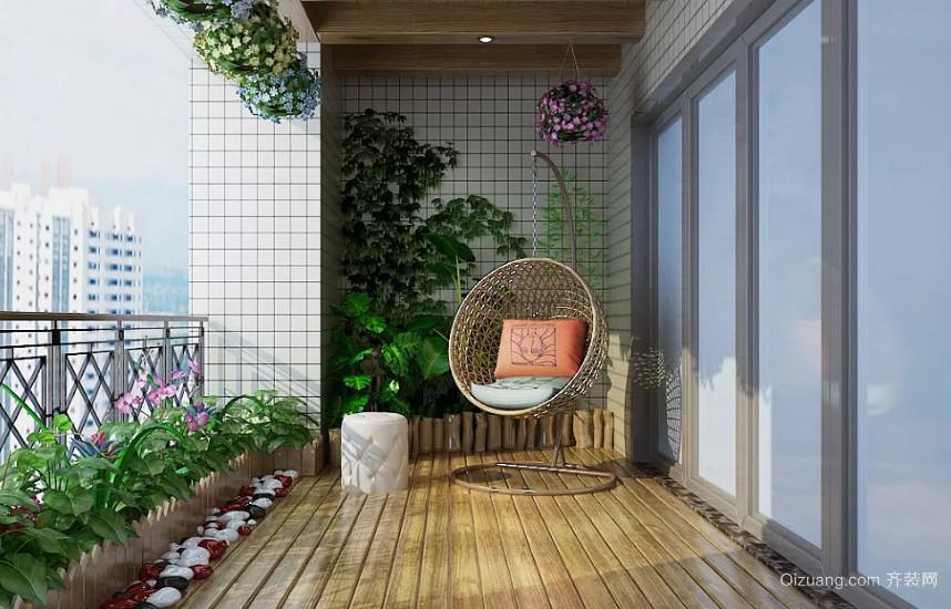 休闲阳台装修效果图片
