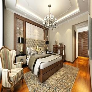 简欧式卧室装修效果图,卧室设计整体朴素而富有美感,我们可以看到这个空间的色彩搭配并不复杂,只是深浅黄色的相互映衬,卧室的吊顶也相当个性,实木材料打造的方格造型也是清新无比。