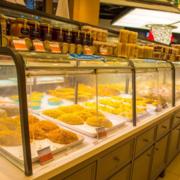 面包店货柜效果图