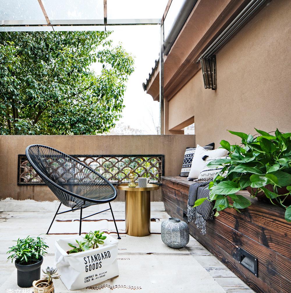 高层阳台花园设计案例